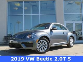 New 2019 Volkswagen Beetle 2.0T S Hatchback for sale in Huntsville, AL at Hiley Volkswagen of Huntsville
