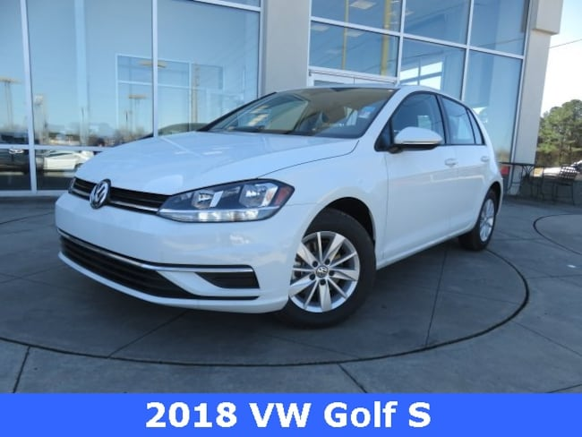 New 2018 Volkswagen Golf TSI S Hatchback for sale in Huntsville, AL at Hiley Volkswagen of Huntsville