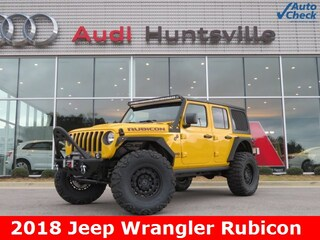 Used 2018 Jeep Wrangler Unlimited Rubicon 4x4 SUV for sale in Huntsville, AL at Hiley Volkswagen of Huntsville