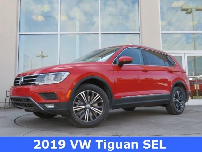 New 2019 Volkswagen Tiguan 2.0T SEL SUV for sale in Huntsville, AL at Hiley Volkswagen of Huntsville
