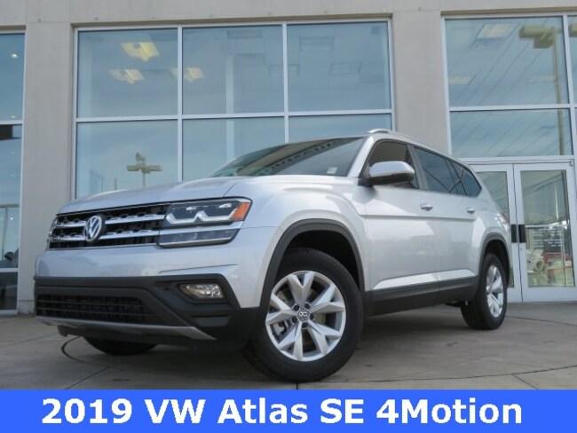 New 2019 Volkswagen Atlas 3.6L V6 SE 4MOTION SUV for sale in Huntsville, AL at Hiley Volkswagen of Huntsville