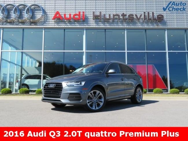 Used 2016 Audi Q3 2.0T Premium Plus SUV for sale in Huntsville, AL at Hiley Volkswagen of Huntsville