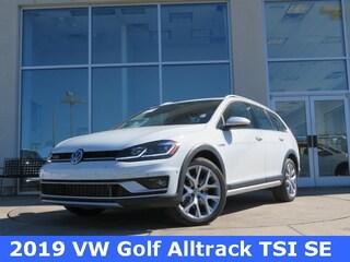 New 2019 Volkswagen Golf Alltrack TSI SE 4MOTION Wagon for sale in Huntsville, AL at Hiley Volkswagen of Huntsville