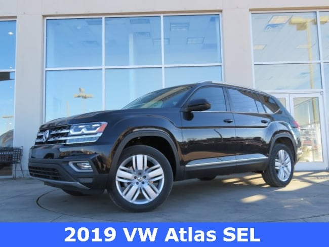 New 2019 Volkswagen Atlas 3.6L V6 SEL SUV for sale in Huntsville, AL at Hiley Volkswagen of Huntsville