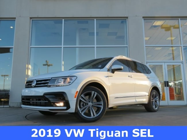 New 2019 Volkswagen Tiguan 2 0t Sel R Line For Sale In Huntsville
