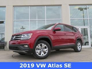 2019 Volkswagen Atlas 3.6L V6 SE SUV 1V2DR2CA3KC502346 for sale in Huntsville, AL at Hiley Volkswagen