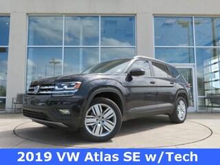 New 2019 Volkswagen Atlas 3.6L V6 SE w/Technology SUV for sale in Huntsville, AL at Hiley Volkswagen of Huntsville