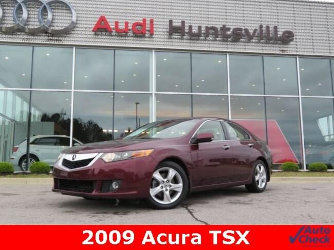 Used 2009 Acura TSX Base Sedan for sale in Huntsville, AL at Hiley Volkswagen of Huntsville