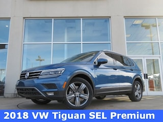 New 2018 Volkswagen Tiguan 2.0T SEL Premium SUV for sale in Huntsville, AL at Hiley Volkswagen of Huntsville