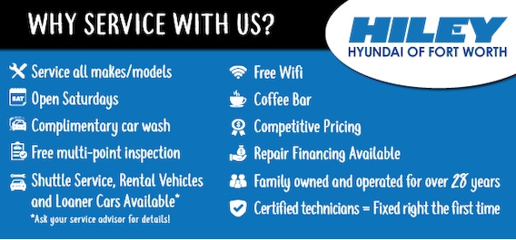 Service Specials Hiley Hyundai Of Fort Worth