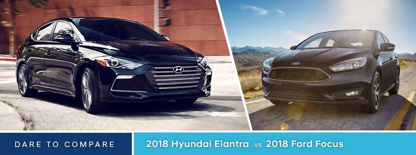 Fort Worth Focus >> 2018 Hyundai Elantra Vs Ford Focus Fort Worth Tx