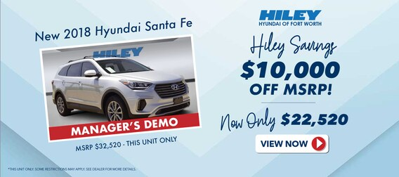 Hiley Hyundai of Fort Worth, New & Used Hyundai Dealership
