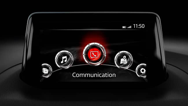 Mazda Connect Touchscreen