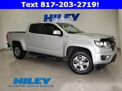 Used 2018 Chevrolet Colorado 4WD Z71 4WD Crew Cab 128.3 Z71 1GCPTDE14J1161591 for sale near Forth Worth, TX at Hiley Hyundai