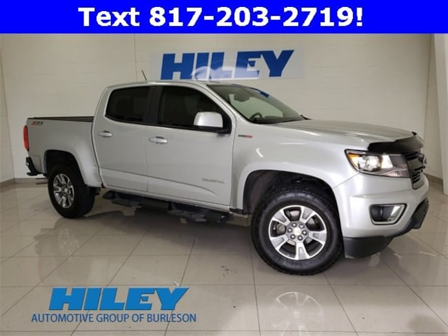 2018 Chevrolet Colorado 4WD Z71 4WD Crew Cab 128.3 Z71 for sale near Fort Worth, TX at Hiley Hyundai