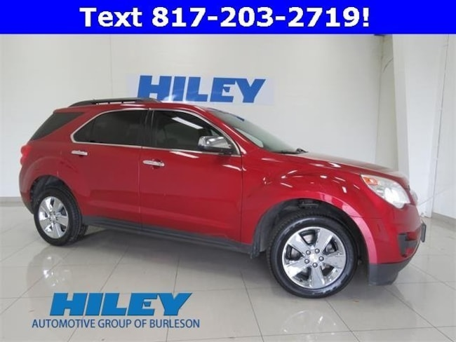 2015 Chevrolet Equinox LT FWD  LT w/1LT for sale near Fort Worth, TX at Hiley Hyundai