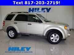 Used 2012 Ford Escape XLT FWD  XLT 1FMCU0D79CKA17375 for sale near Forth Worth, TX at Hiley Hyundai