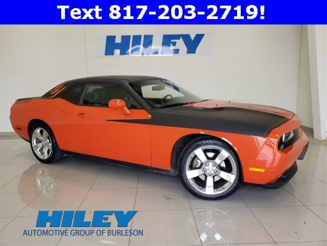 2009 Dodge Challenger R/T Coupe for sale near Fort Worth, TX at Hiley Hyundai