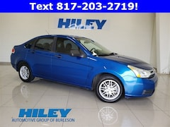 Used 2010 Ford Focus SE Sedan 1FAHP3FN1AW290076 for sale near Forth Worth, TX at Hiley Hyundai