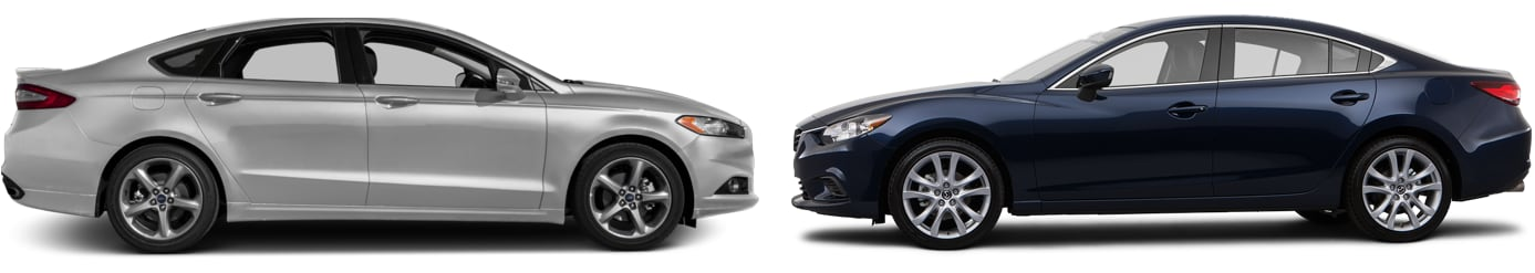 Comparing The Mazda6 To The Ford Fusion Here In Huntsville, Alabama