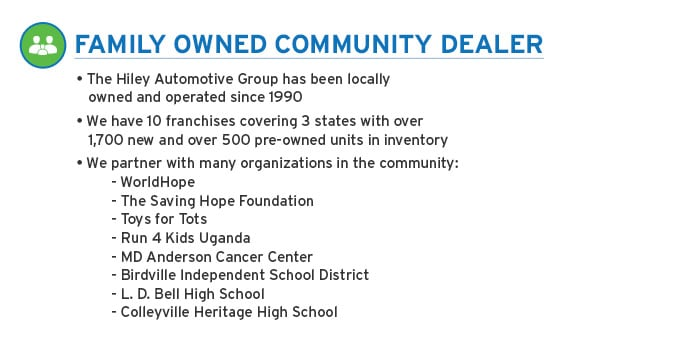Family Owned Community Dealer
