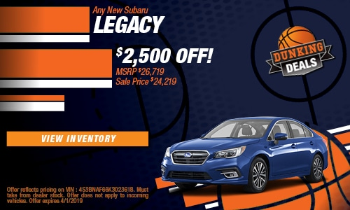 March '19 Legacy Cash Offer