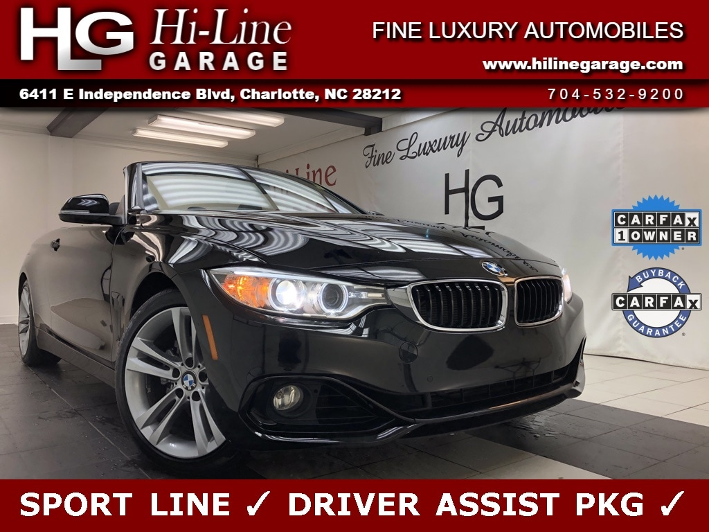 2016 BMW 4 Series 428i Sport Line w/ Driver Assist Pkg Convertible