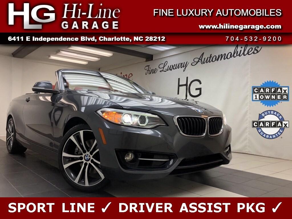 2016 BMW 2 Series 228i Sport Line w/ Driver Assist Pkg Convertible
