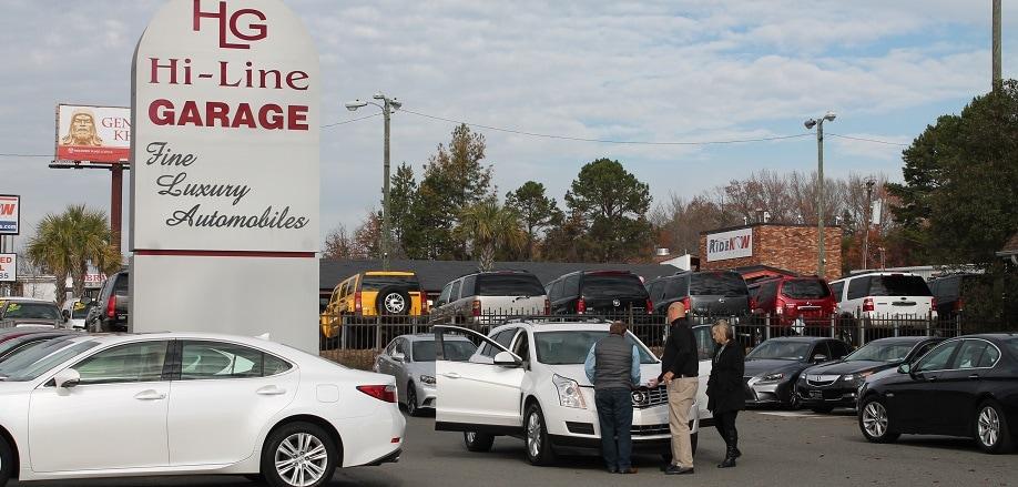 hi line garage pre owned dealership in charlotte nc 28212. Black Bedroom Furniture Sets. Home Design Ideas