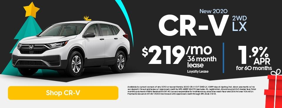 New 2020 Honda CR-V Sale