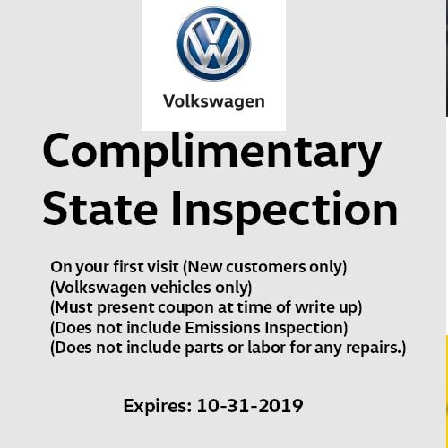 Volkswagen Service Specials | Hillcrest Volkswagen, Inc