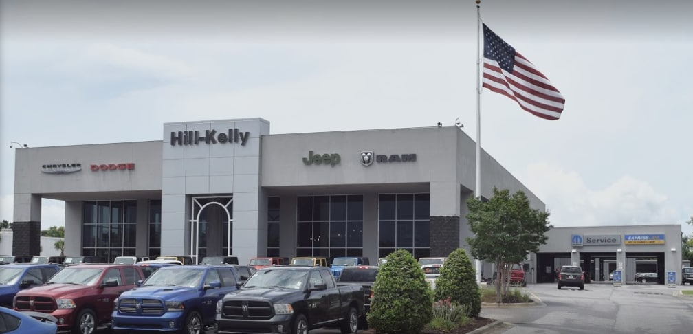 Pensacola's Hill-Kelly Dodge Chrysler Jeep Ram | New and Used