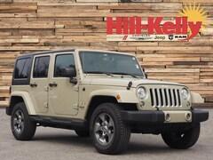 Used 2018 Jeep Wrangler JK Unlimited Sahara 4x4 SUV 3971 for Sale near Gulf Breeze, FL, at Hill-Kelly Dodge Chrysler Jeep Ram