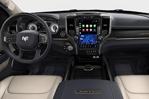 2019 Ram 1500 Interior Technology