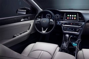 Hyundai Sonata Interior Technology