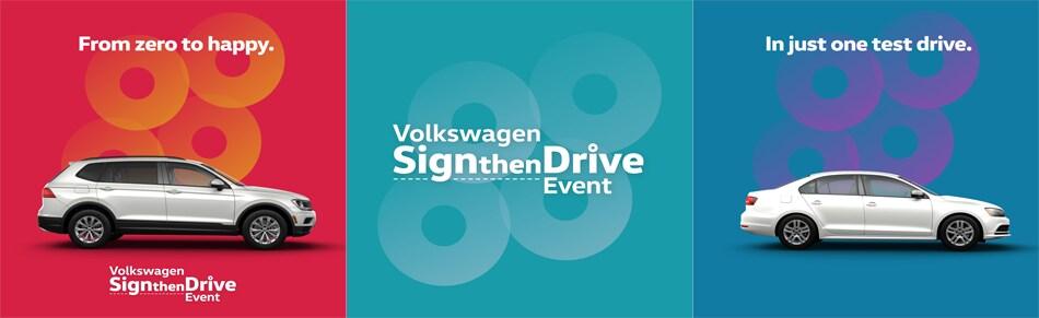 volkswagen sign then drive event hardeeville sc | hilton head vw
