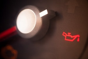 Dashboard Oil Warning Light
