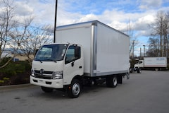 2017 HINO 195 16' Dry Box W/Waltco Alum Platform Power lift
