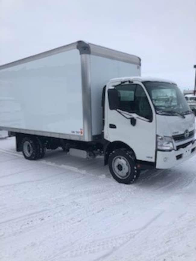 2019 HINO 195-149, 18ft.van body, ramp