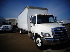 2014 HINO 338/271, 24ft., van body, lift gate and ramp