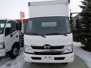 2018 HINO 195-173, 18ft. Van Body, Ramp -