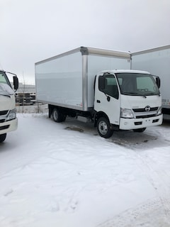 2019 HINO 155-149, 18ft.van body, ramp, GPS, Touch screen