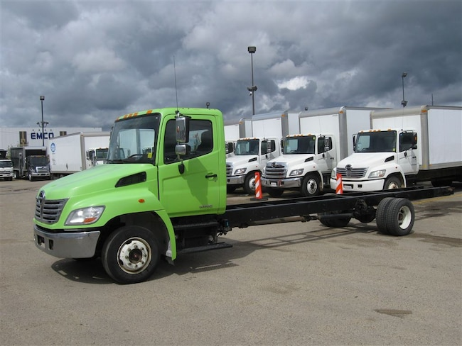 2010 HINO 258 LP, Cab/Chassis only. Air Suspension -