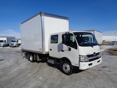 2018 HINO 195-173, Crew/Cab,  15.6ft., level ride lift gate