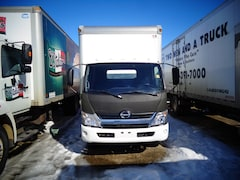 2015 HINO 155/149 , 18ft. van body, ramp