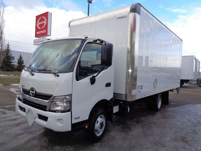 2019 HINO 155-149 18ft dry van TE-25 power gate
