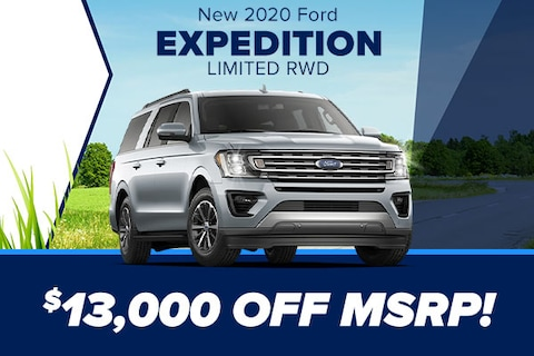 New 2020 Ford Expedition Limited RWD