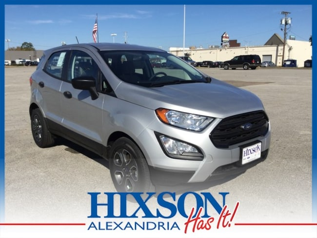 2018 Ford EcoSport S Crossover Front-Wheel Drive (F