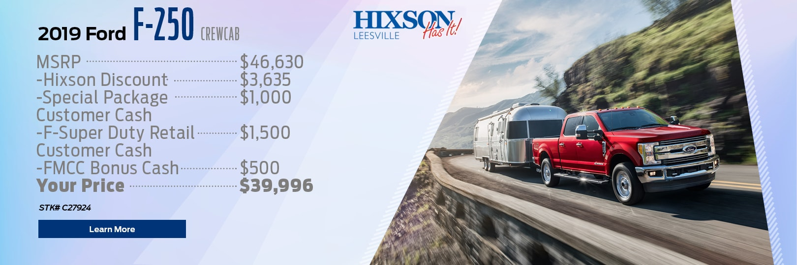 New Used Ford Vehicle Dealership Hixson Ford Of Leesville La