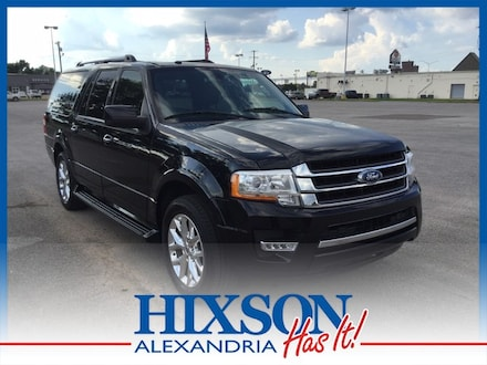 Featured used 2017 Ford Expedition EL Limited SUV for sale in Alexandria, LA
